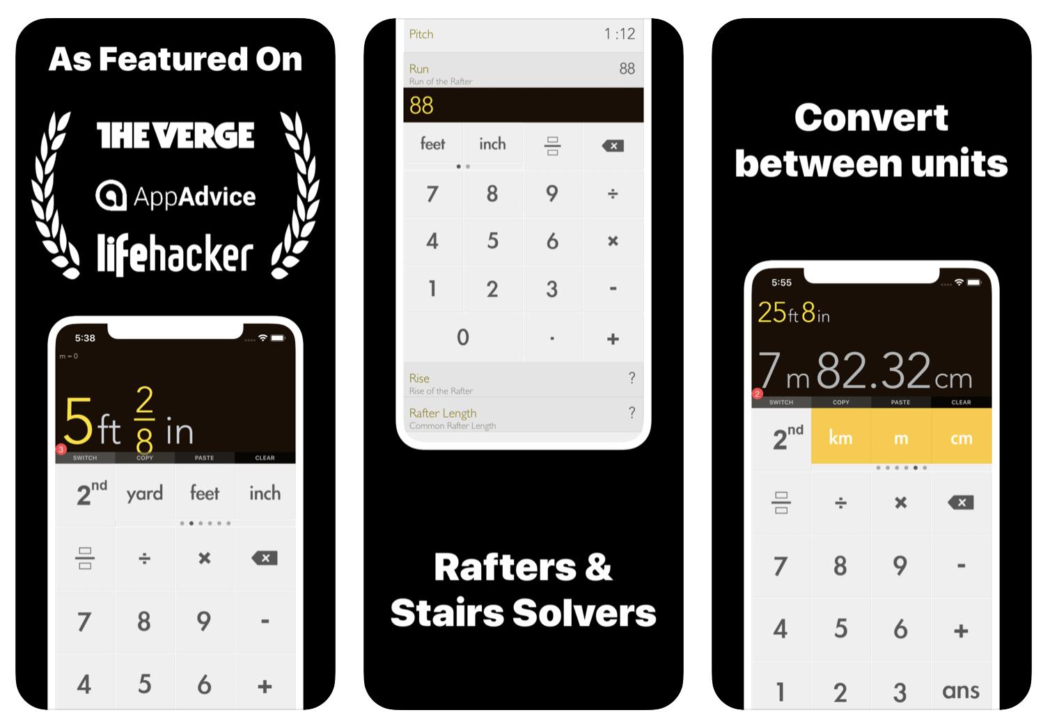 Construction Calculator App